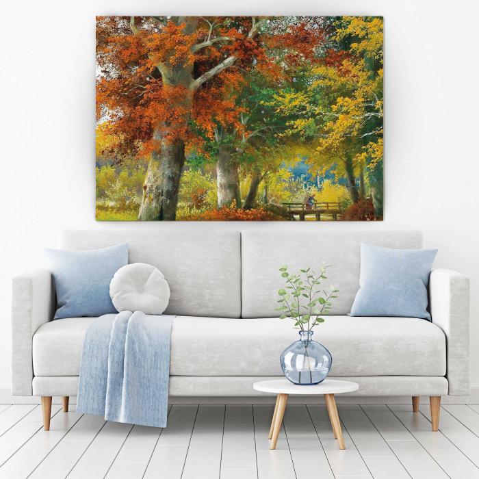 tablouri-canvas-picturi-peisaj-de-toamna 1