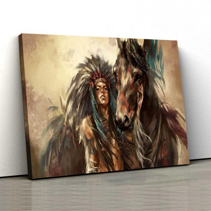 Tablou Canvas - Tribes Man 0