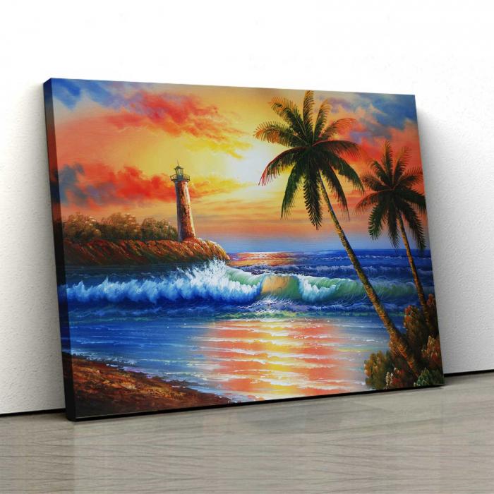 Tablou Canvas - Tropical [0]