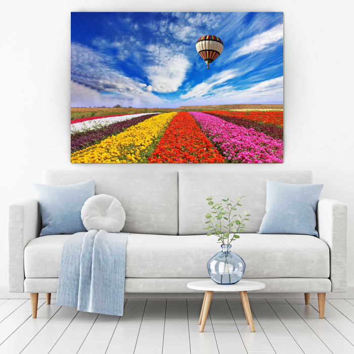 Tablou Canvas - Tulips Field [1]