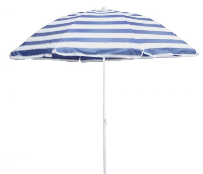 Umbrela Blue soare pentru terasa  rotunda structura metal albastru Diametru [0]