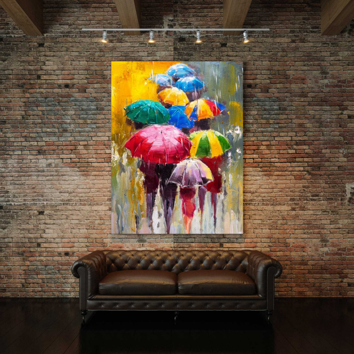 Tablou Canvas - Umbrele 2