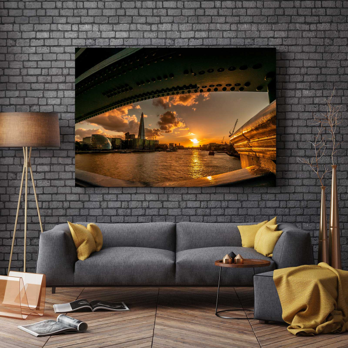 Tablou Canvas - Under The Bridge [2]