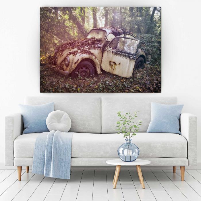 Tablou Canvas - Vintage Beetle 1