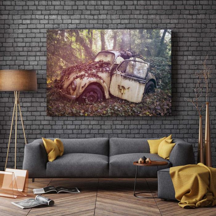 Tablou Canvas - Vintage Beetle 2