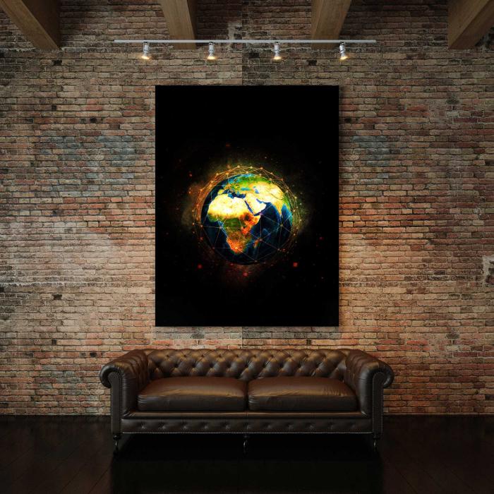 Tablou Canvas - World 2