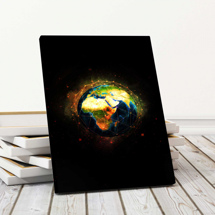 Tablou Canvas - World 0