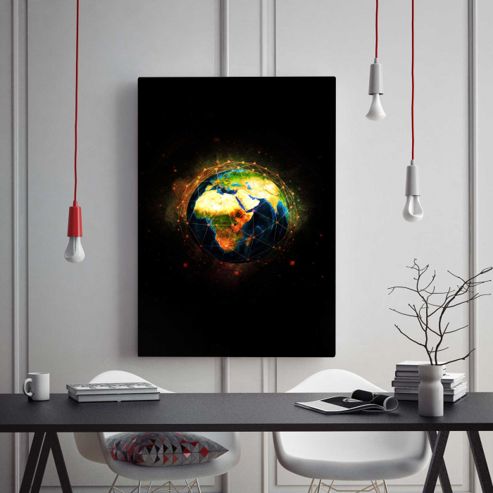 Tablou Canvas - World 1