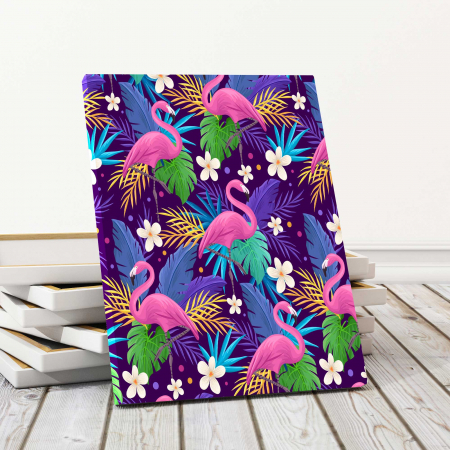 Tablouri Canvas Copii - Flamingo0