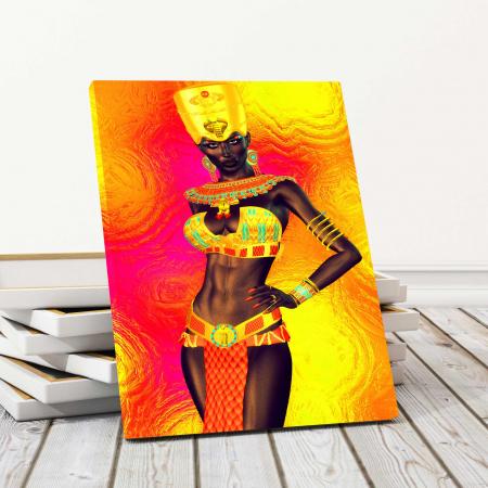 Tablou Canvas - Gold Queen0