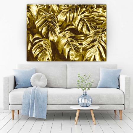 Tablou Canvas - Gold Leaves1