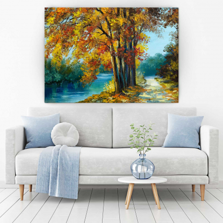 Tablou Canvas - Autumn View1
