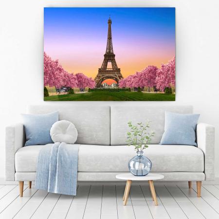 Tablou Canvas - Paris, te ador !1