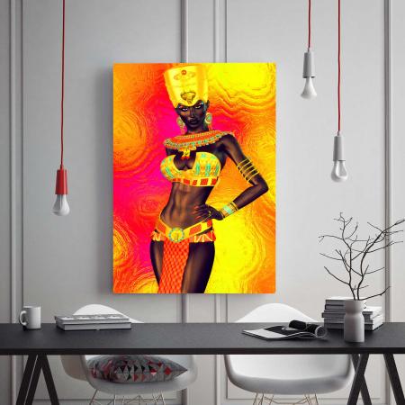 Tablou Canvas - Gold Queen1