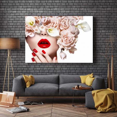 Tablou Canvas - I Love Flowers [2]