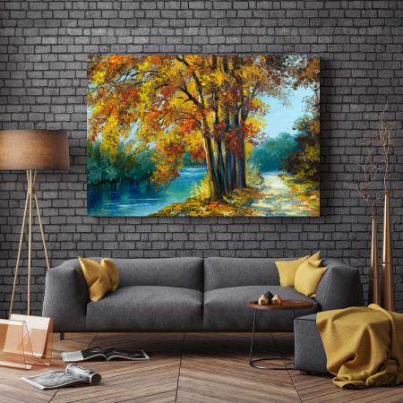 Tablou Canvas - Autumn View2