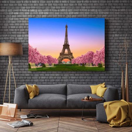 Tablou Canvas - Paris, te ador !2