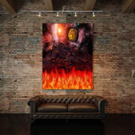 Tablou Canvas - Apocalipsa [2]