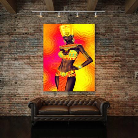Tablou Canvas - Gold Queen2