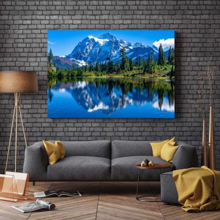 Tablou Canvas - Mystical Mountains [2]