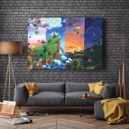 Tablou Canvas - 4 Views [2]