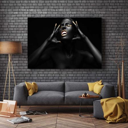 Tablou Canvas - Afro Girl [2]