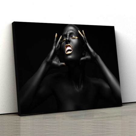 Tablou Canvas - Afro Girl [0]