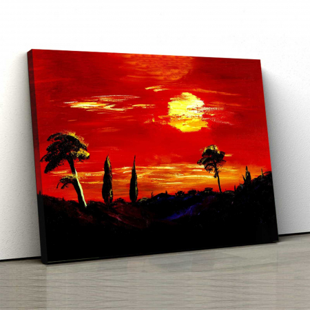 Tablou Canvas - Apus Superb0