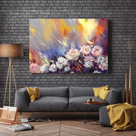 Tablou Canvas - Arta florilor [2]