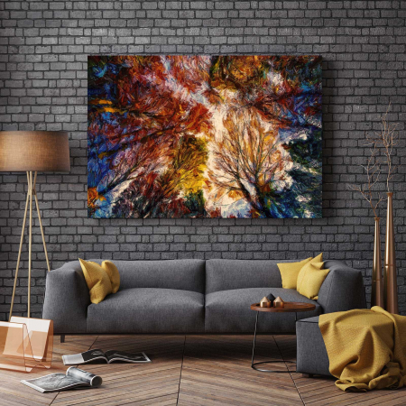 Tablou Canvas - Autumn Trees2