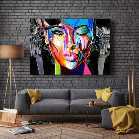 Tablou Canvas - Be Wild2