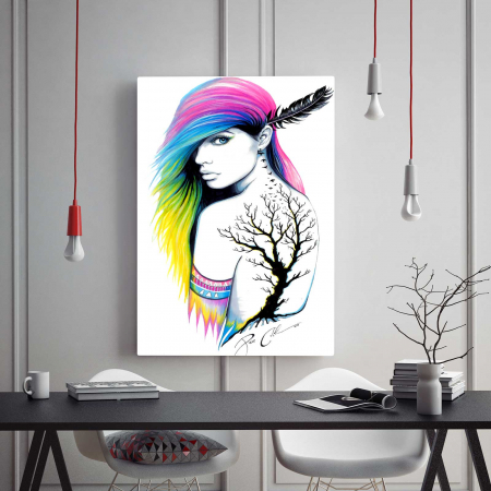 Tablou Canvas - Beauty Girl1