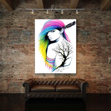 Tablou Canvas - Beauty Girl2