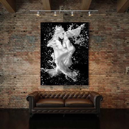Tablou Canvas - Black And White Print2