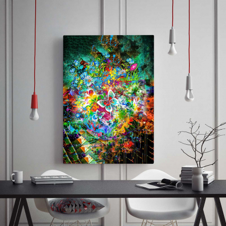 tablou canvas modern fluture abstract [1]