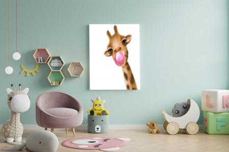 Tablou Canvas Copii - Giraffe1