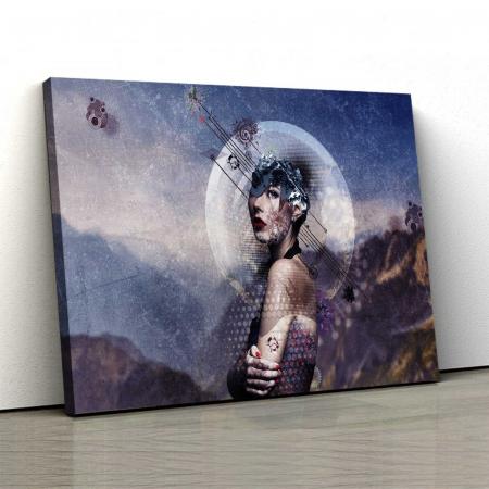 Tablou Canvas - Caracter ficțional [0]