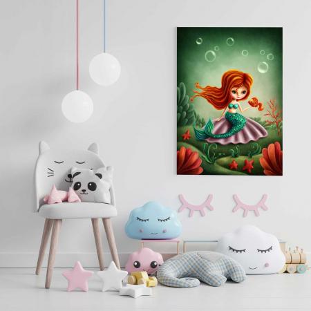 Tablou Canvas Copii - Mica Sirena [1]