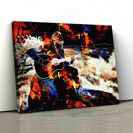 Tablou Canvas - Chitară [0]