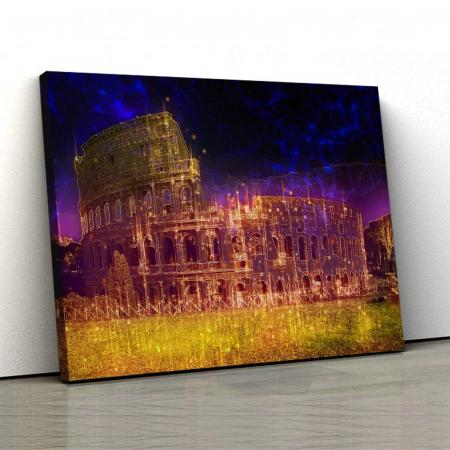 Tablou Canvas - Colosseum0