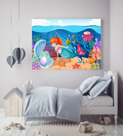 Tablou Canvas Copii - Sirena [1]