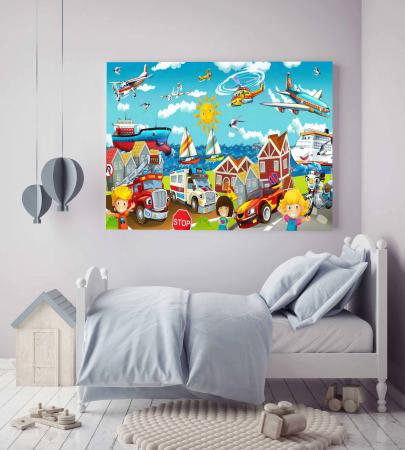 Tablou Canvas Copii - Lumea Copiilor [1]