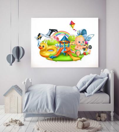 Tablou Canvas Copii - Toys [1]