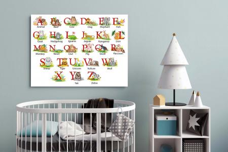 Tablou Canvas Copii - Alfabet [2]