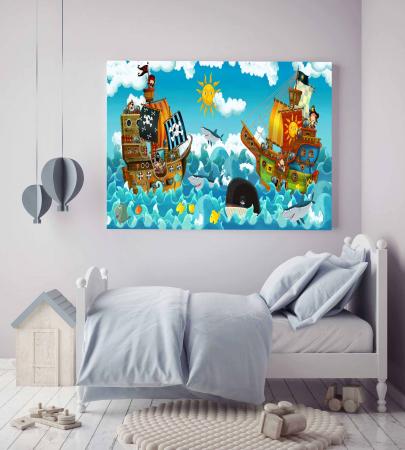 Tablou Canvas Copii - Happy On Sea [1]