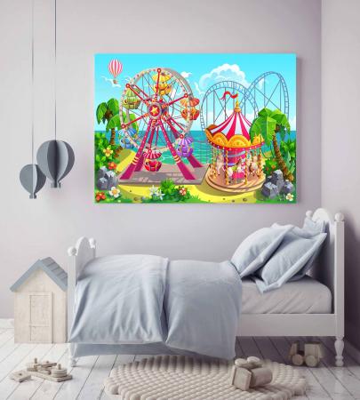 Tablou Canvas Copii - Kids World2