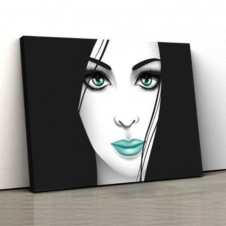 Tablou Canvas - Creativ Girl0