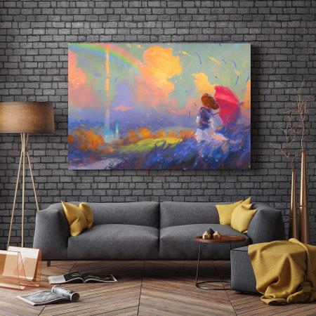 Tablou Canvas - Curcubeu [2]