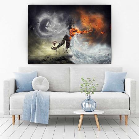 Tablou Canvas - Deity1