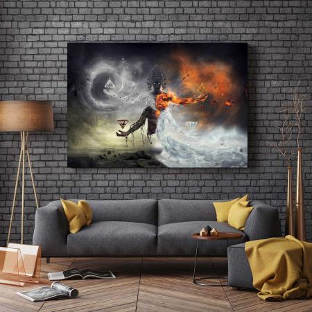 Tablou Canvas - Deity2
